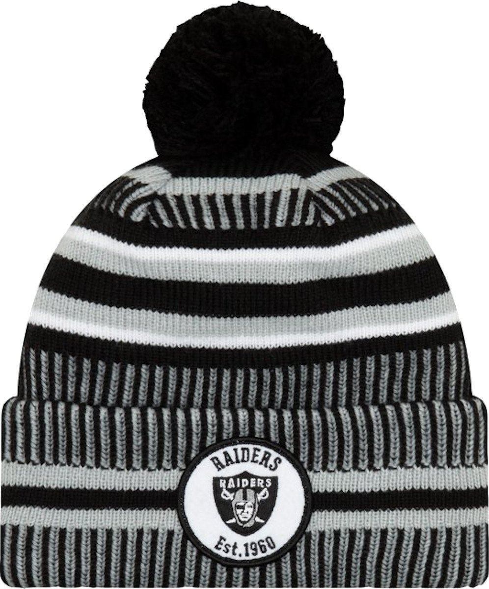 Čiapky New Era Oakland Raiders HM Knitted Cap